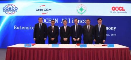 海洋联盟合作期限延长至10年