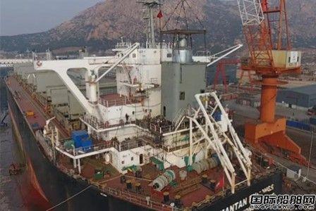 鑫弘重工新年首个船舶脱硫改装项目进展顺利