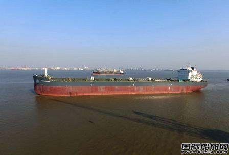 新韩通船舶重工82000吨散货船试航归来