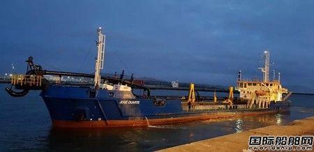 达门为葡萄牙挖泥船配置疏浚设备