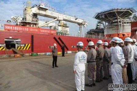 广新海工交付一艘90米电力推进潜水支持船