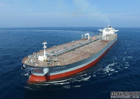 现代重工获3艘VLCC订单