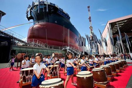 日本造船业:订单持续下滑谋求突围