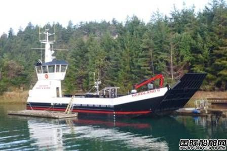 EBDG为San Juan群岛设计一艘登陆艇