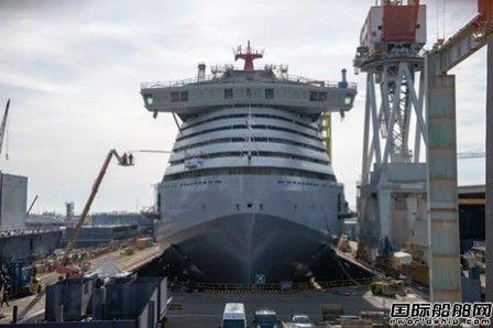 Fincantieri为维珍邮轮建造首艘邮轮顺利下水