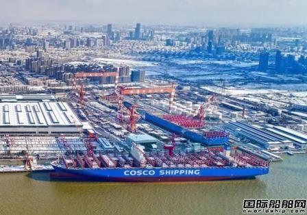 南通中远川崎获日本船东3艘VLCC订单