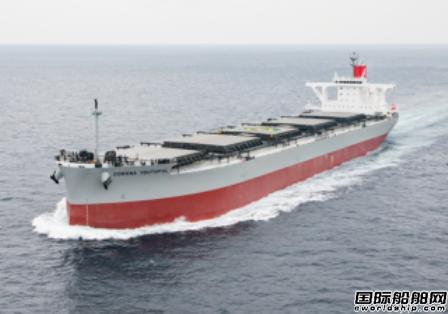 川崎汽船新散货船测试新型废热回收发电系统