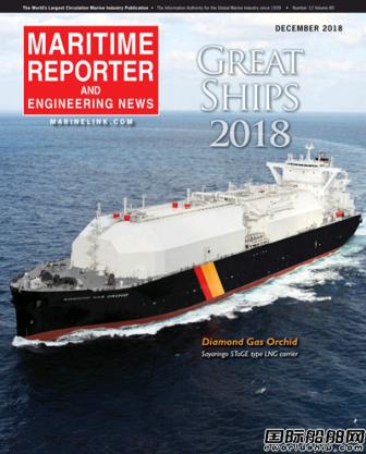 16艘~2018年世界名船榜单出炉!