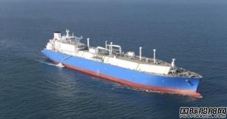 大宇造船获1艘LNG船订单