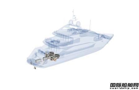 罗罗将为Sunseeker游艇提供MTU混合推进系统