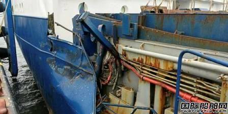 10人重伤!德国风电运维船与杂货船相撞