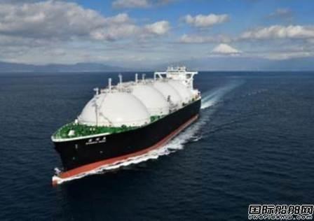 川崎重工交付一艘17.7万立方米LNG船