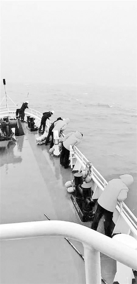 象山一渔船被货轮撞沉2人获救5人失联