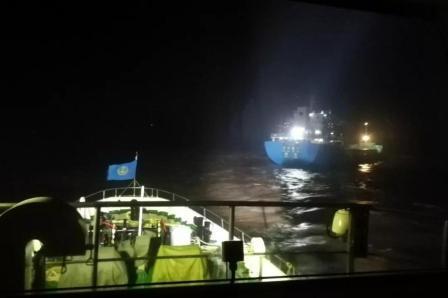舟山海域1艘货船沉没7名船员全部获救