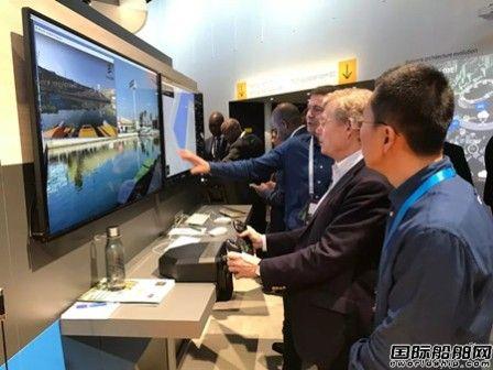 云洲智能5G无人船亮相世界移动通信大会