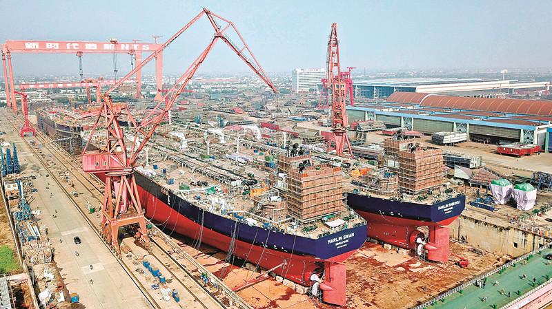 泰州成中国造船第一大市