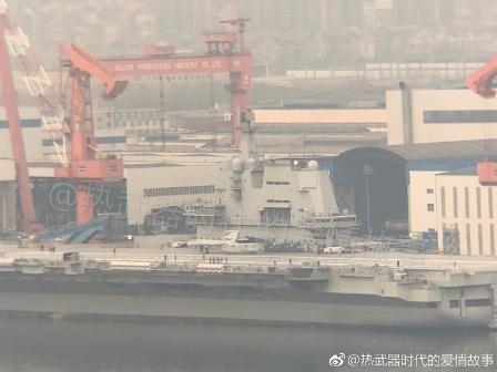 首艘国产航母开始第五次海试