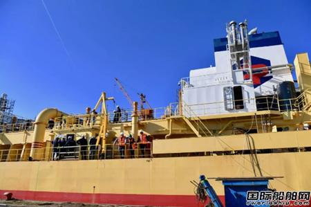 达门修船厂首次为挖泥船改装LNG双燃料