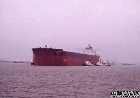 外高桥造船第四艘40万吨矿砂船顺利返航
