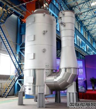 大船集团装备公司完成瓦锡兰首台套脱硫洗涤塔建造