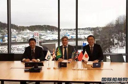 江南造船接获4艘3600车汽车运输船订单