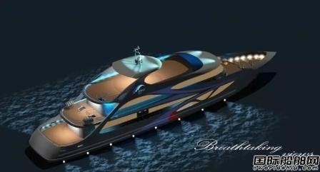 靖江南洋船舶一艘游艇式高速客船下水