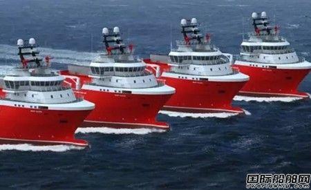 瓦锡兰齐耀签4艘LNG动力守护供应船双燃料机组订单