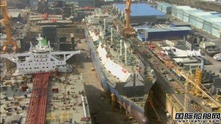 韩国船企2月份揽获全球90%新船订单