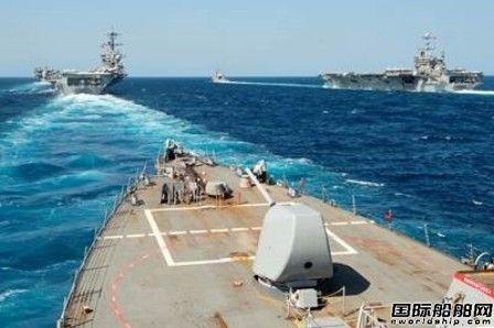 美国海军2020财年预算2千亿美元建造百艘军舰