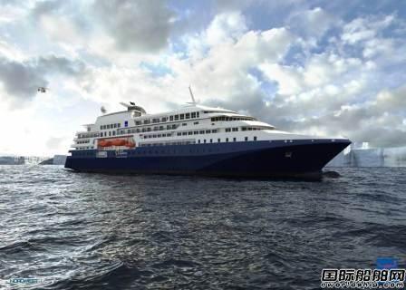 Evac为Quark新造探险船提供整套清洁方案