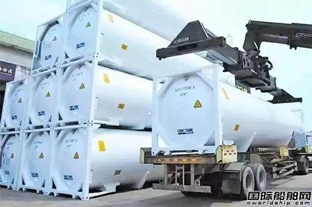 青岛中远海运转型LNG罐箱制造