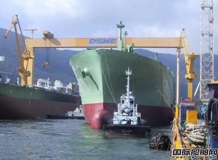 大宇造船连续第二年实现盈利
