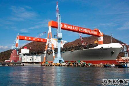日本船企手持订单量降至6年来最低