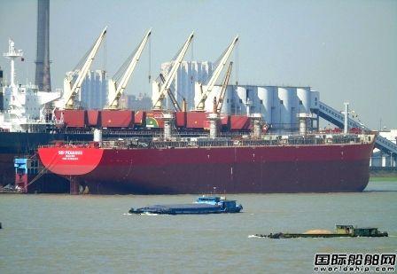 招银租赁和Scorpio Bulkers签7艘散货船售后回租协议