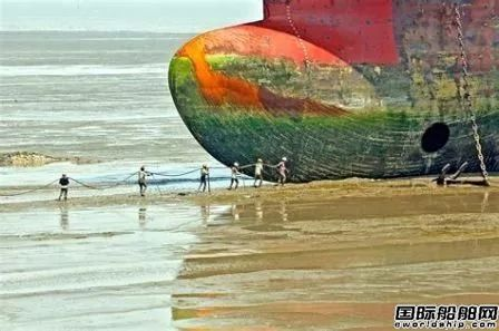 拆船透明度提升,船东的压力越来越大