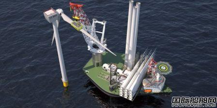Ulstein推出新J102型自升式重吊船设计