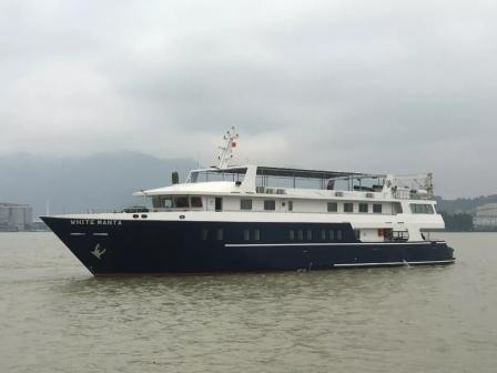 东南造船顺利交付一艘私人游艇