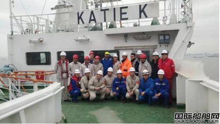 外高桥造船20.8万吨散货船H1388船试航凯旋