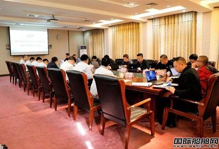 武汉船机烟台打捞局抢工程船1200吨绕桩式起重机通过方案评审