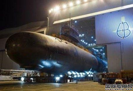 通用动力接获美国海军20亿美元潜艇建造合同