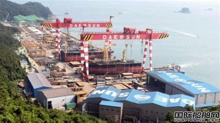 大鲜造船获韩国船东2艘支线集装箱船订单