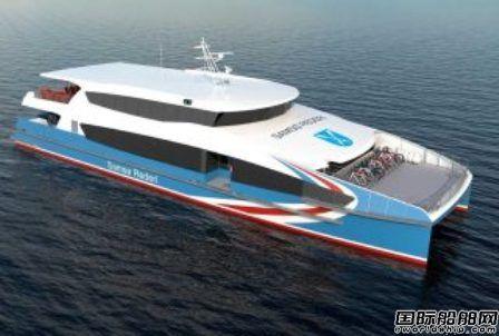 Incat Crowther获丹麦双体客渡船设计合同