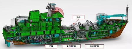 江南造船全球首艘无纸化建造船舶下水