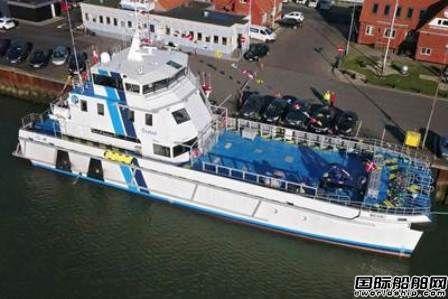 印尼船厂交付2艘全球最大风场支援船