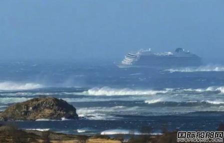 """惊险!""""Viking Sky""""号邮轮海上历险记"""