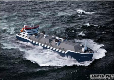 宜昌达门船厂一艘近海LNG燃料加注船开工