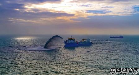 IHC获NMDC一艘8000方挖泥船订单