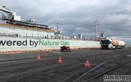 LOTOS和PGNiG合作连续完成船舶LNG加注作业