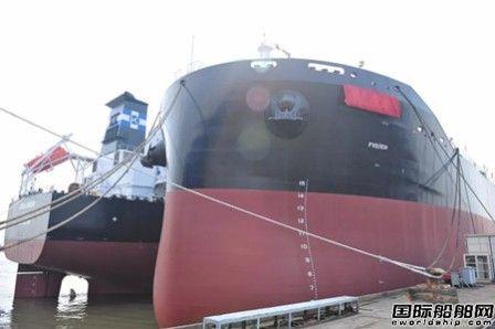 扬子江船业3艘82000吨散货船同日命名