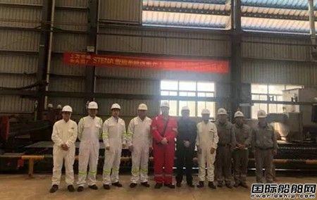 上海蓝魂Stena Bulk脱硫塔系统总包服务改装工程开工